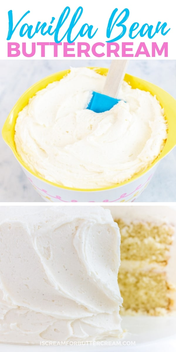 Favorite Vanilla Bean Buttercream Pin Image 1