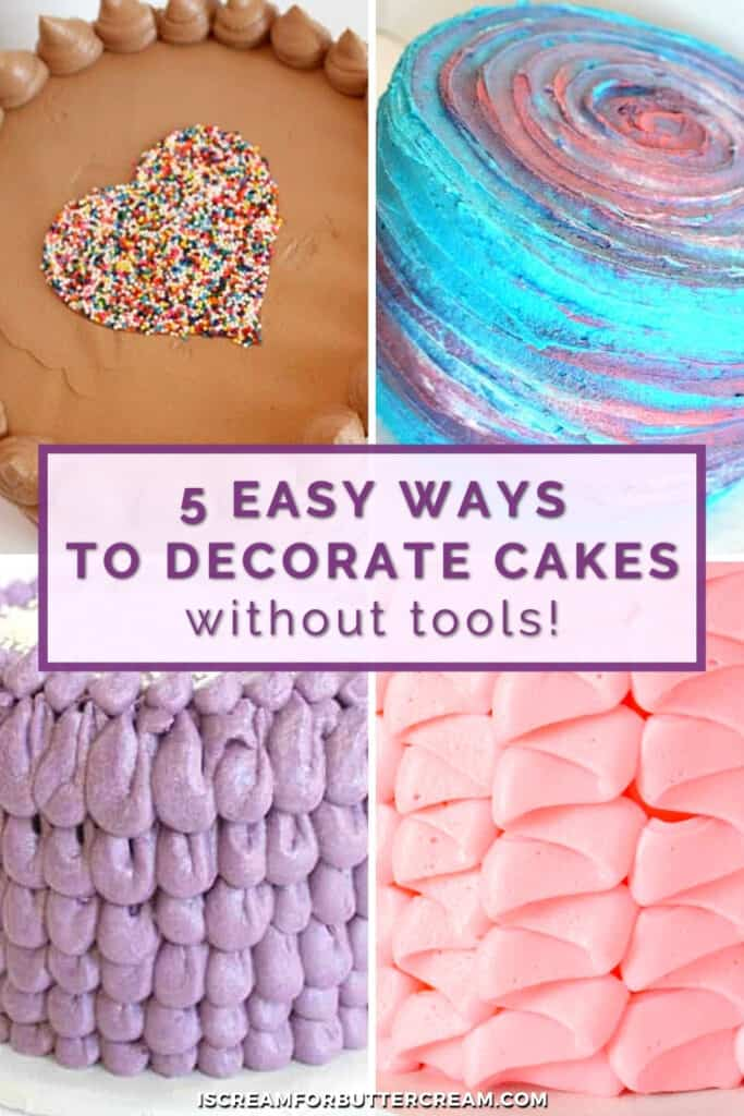 decorated cakes pin graphic