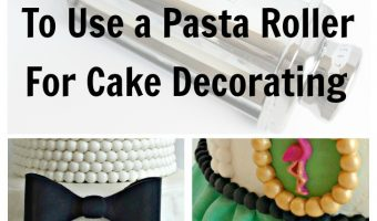 3 Ways to Use a Pasta Roller for Cake Decorating