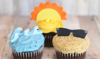 DIY Summer Cupcake Toppers