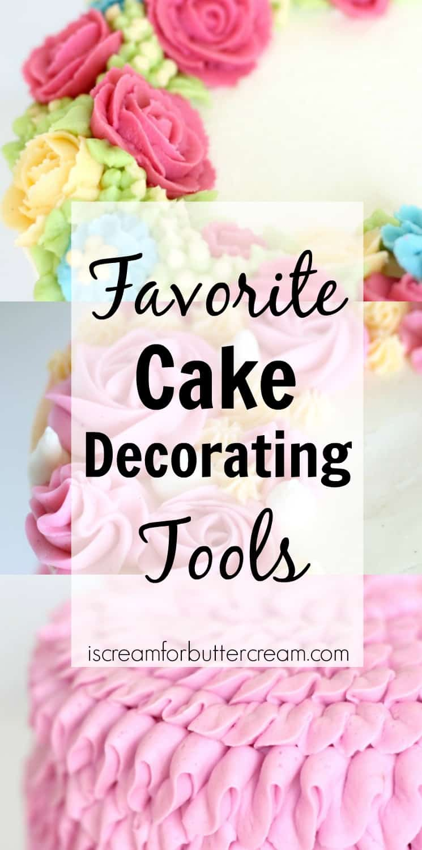 Cake Decorating Tools I Love Pinterest