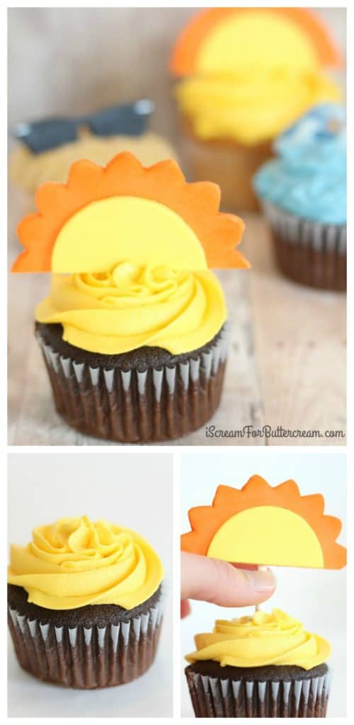 how to make theme cupcakes