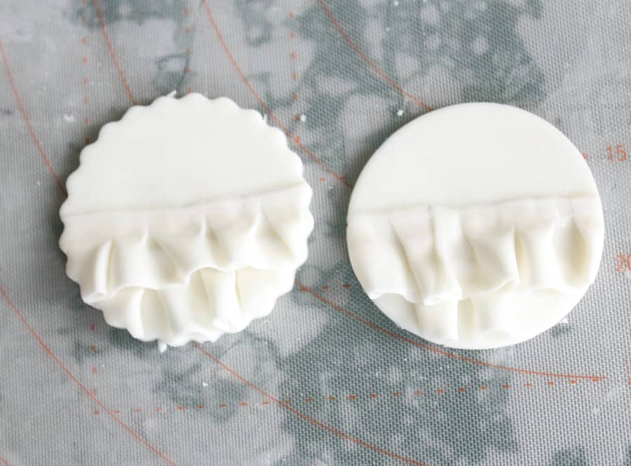 cut out fondant toppers