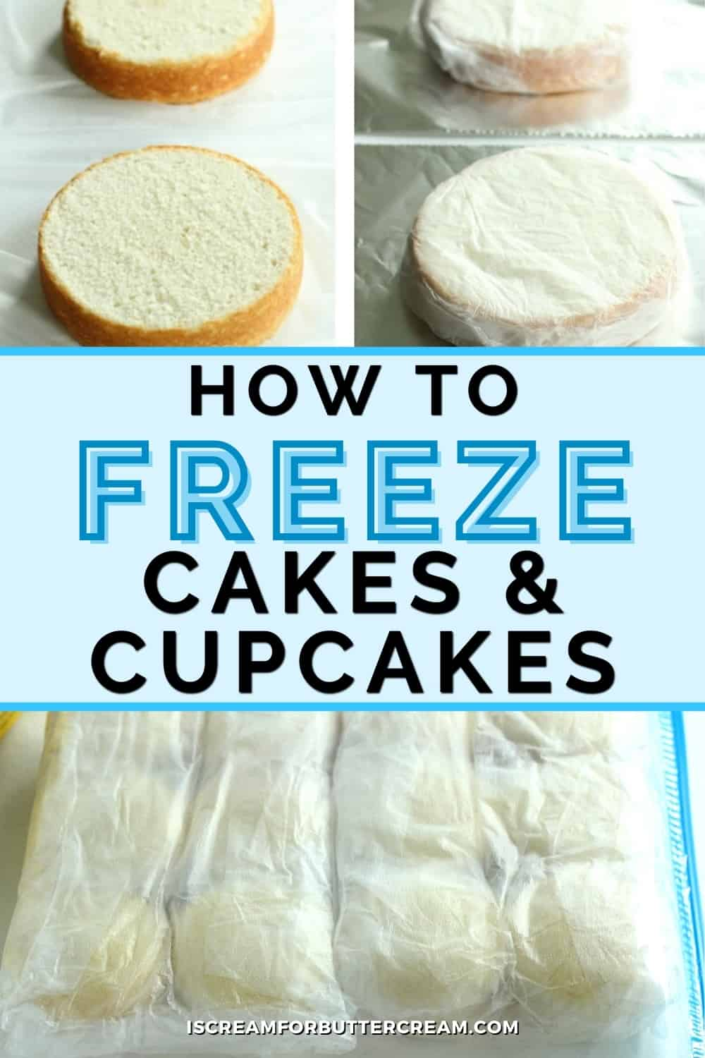 freezing cupcakes pin graphic