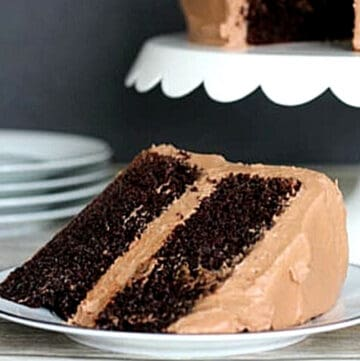 easy chocolate cake featured image
