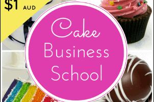 My Review of Cake Business School + A SWEET BONUS