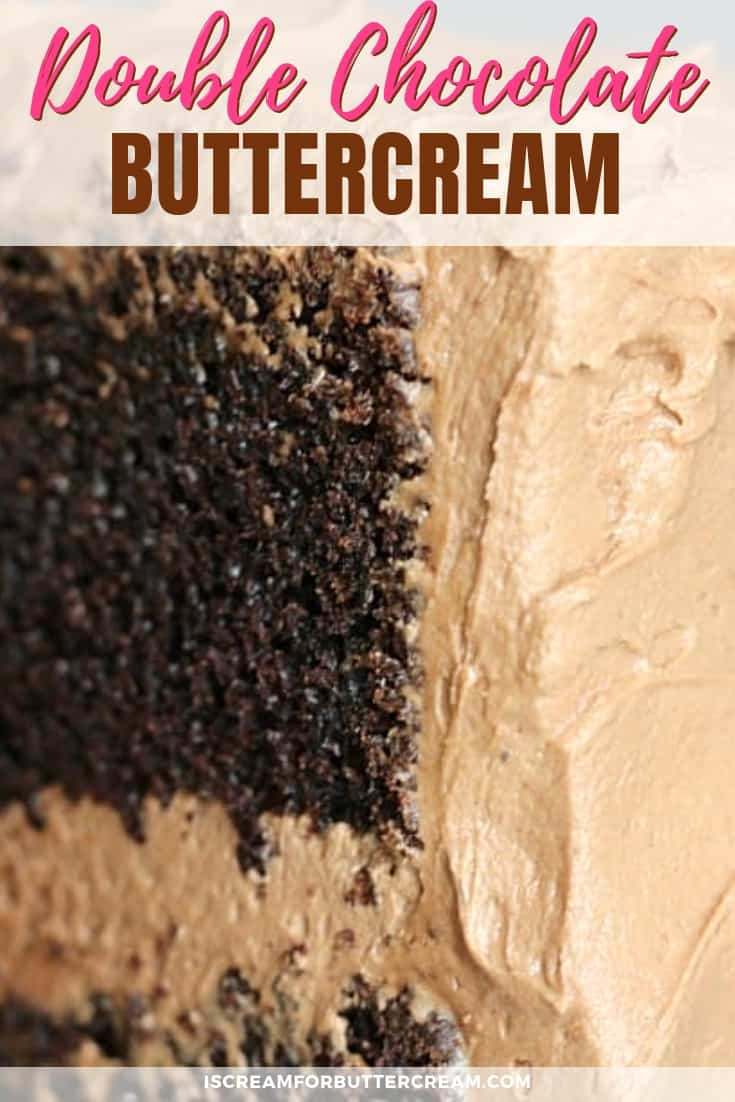 Double Chocolate Buttercream New Pinterest Graphic 2