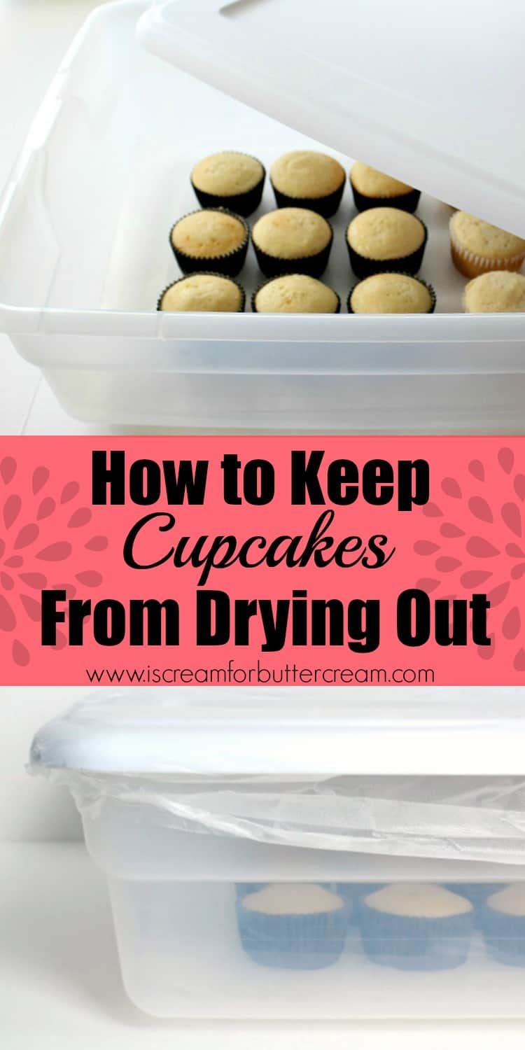 Cupcakes tend to dry out rather quickly, even quicker than cakes do. So, I've come up with a method to keep cupcakes from drying out that works great. #keepcupcakesmoist #moistcupcakes #bakinghacks