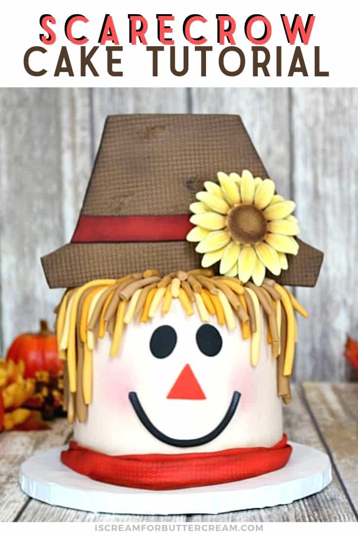 Scarecrow Cake New Pin Image 1