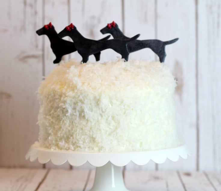 Doxie Cake Topper