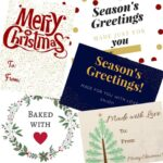 Christmas Food Gift Tags