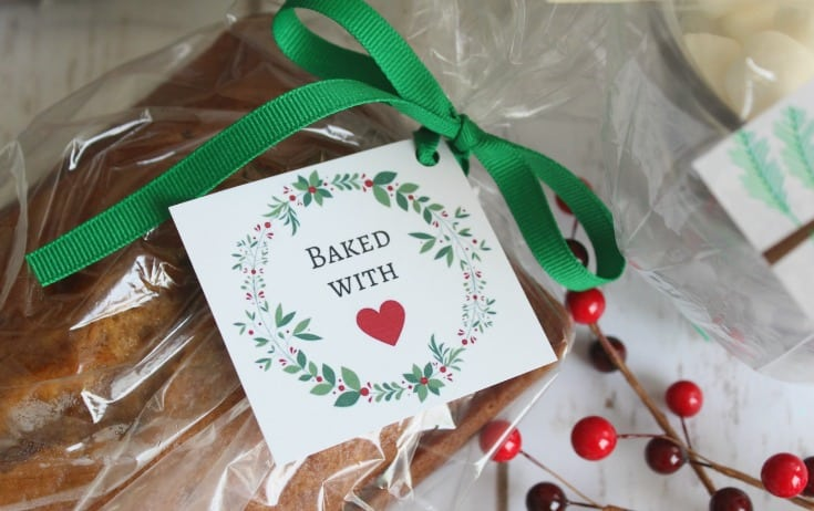 Free Printable Christmas Food Gift Tags - I Scream for Buttercream