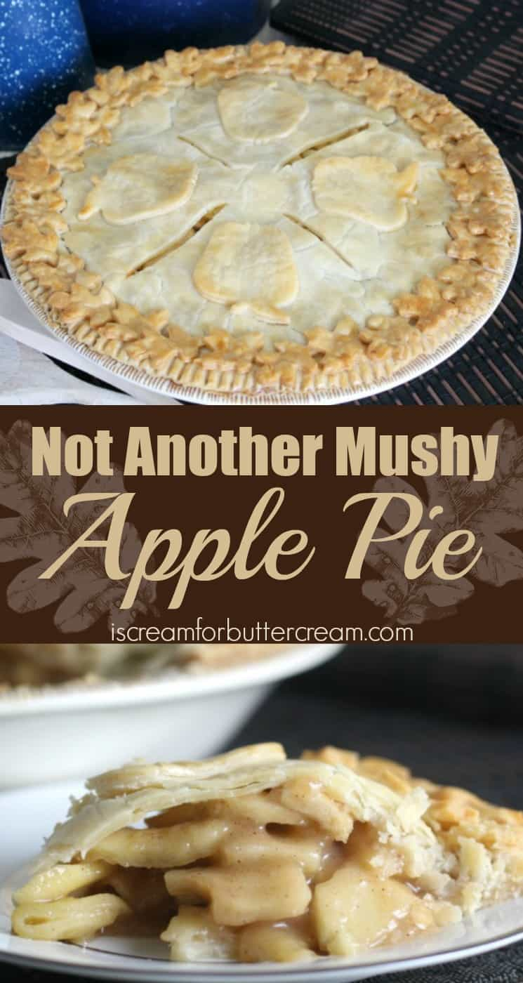 Not Another Mushy Apple Pie Pinterest Graphic