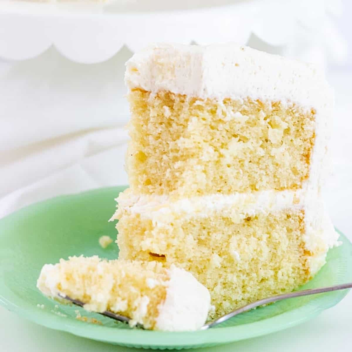 Favorite Vanilla Bean Cake I Scream For Buttercream