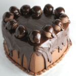 Chocolate Heart Cake