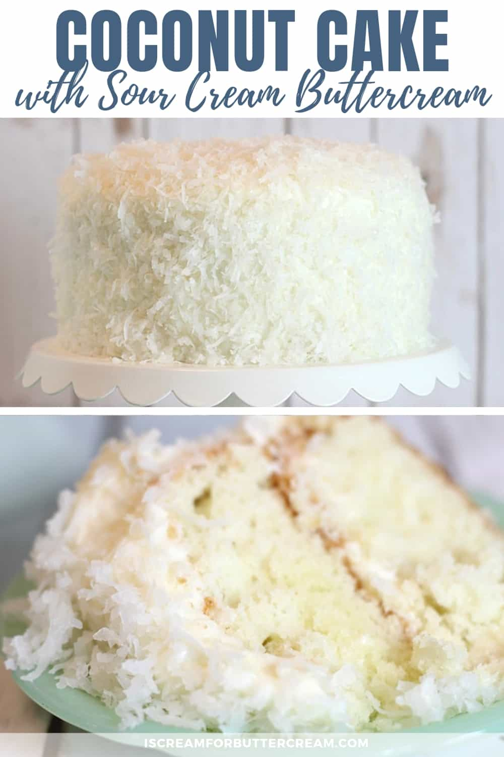 Coconut Cake New Pinterest Graphic 1