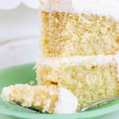 Cool Favorite Vanilla Bean Cake I Scream For Buttercream Funny Birthday Cards Online Amentibdeldamsfinfo