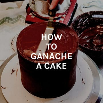 how to ganache a cake featured image