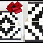 Black and White Geometric Cake Tutorial featured image