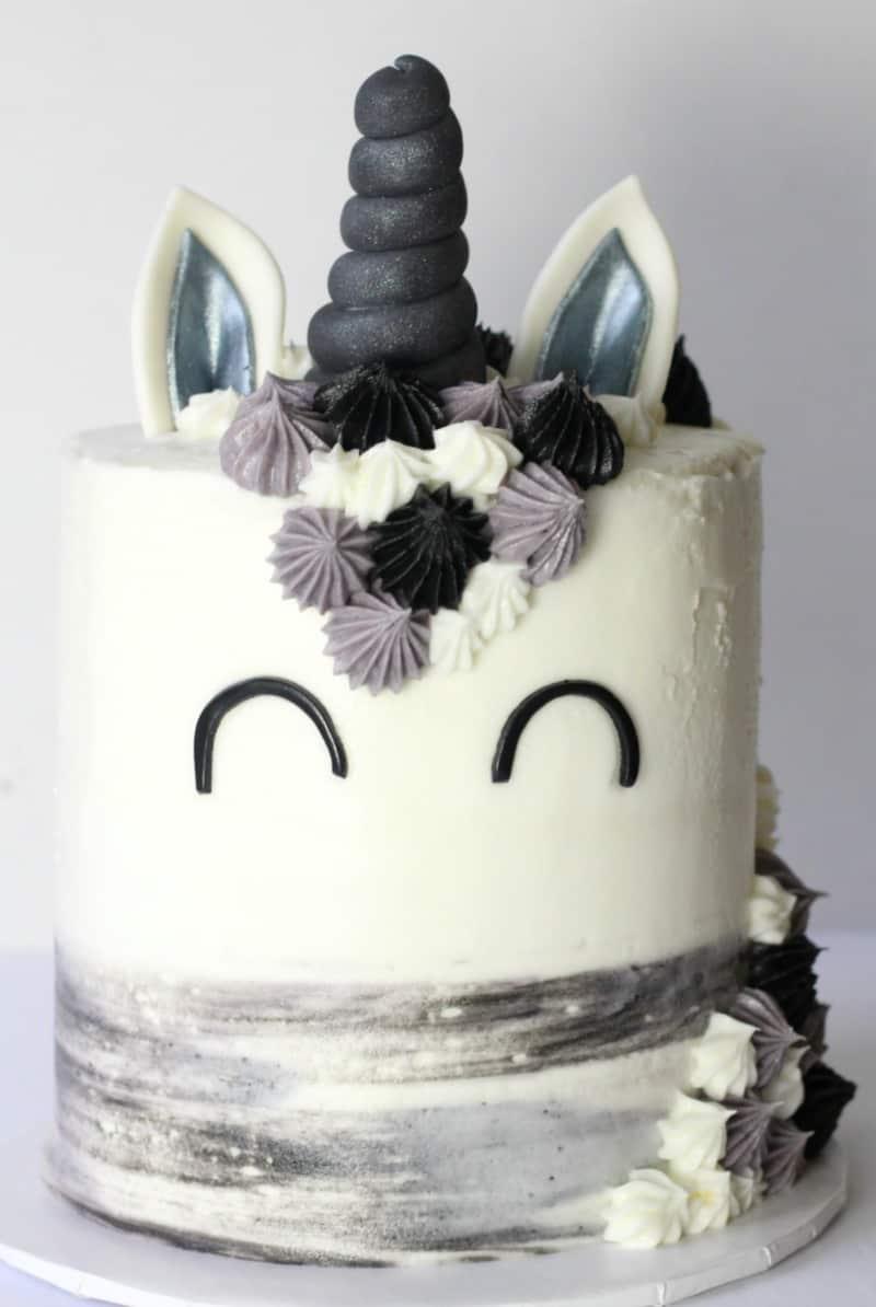 Manly Unicorn Manicorn Cake