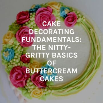 cake decorating course featured image