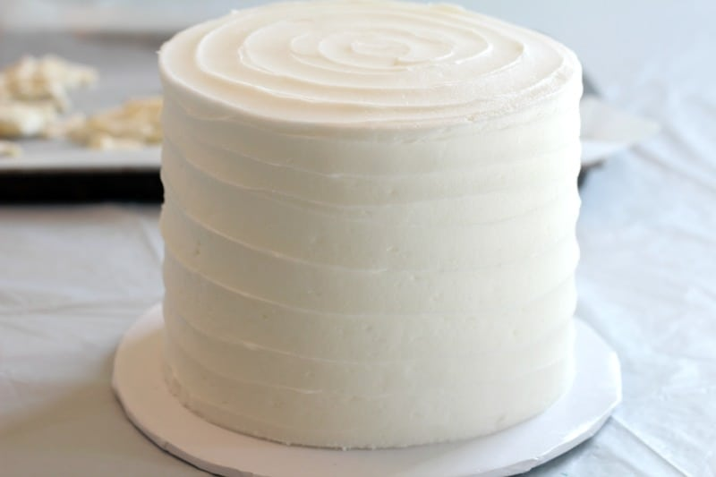 Buttercream Iced Cake