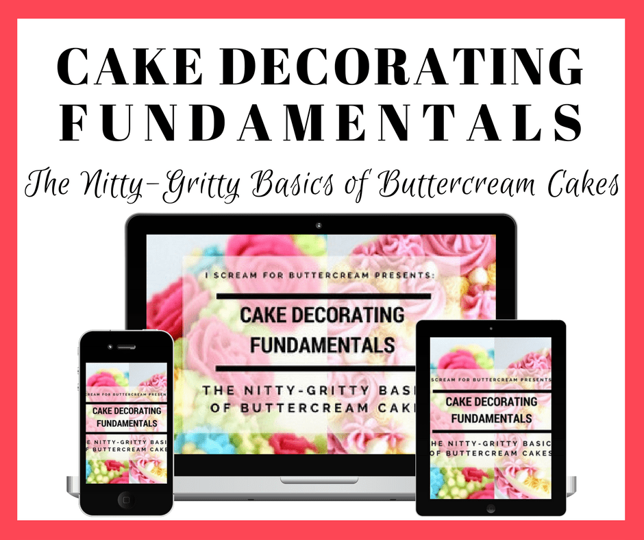 Cake Decorating Fundamentals Graphic