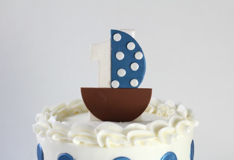 Sailboat Cake Topper