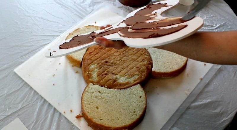 fidget spinner cake