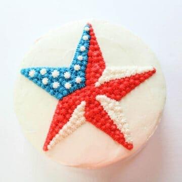 patriotic star cake featured image