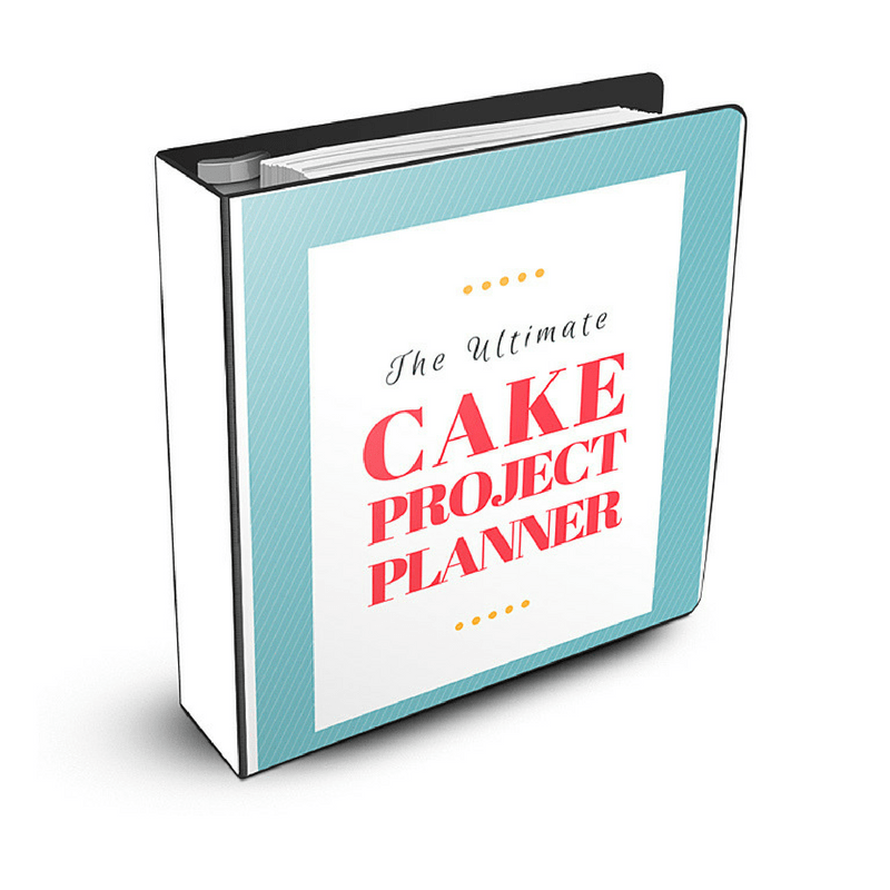 Ultimate Cake Project Planner Graphic