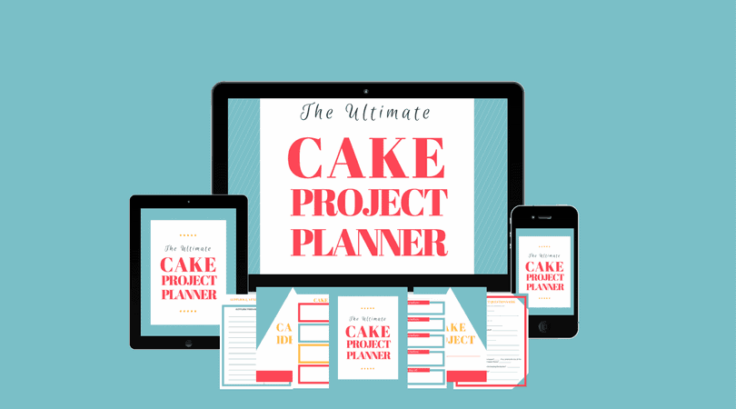 Cake Planning and Timeline Course Graphic