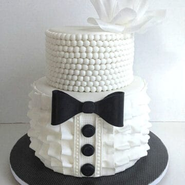 his and hers bridle shower cake featured image