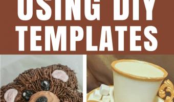 Decorate Cakes Using Templates
