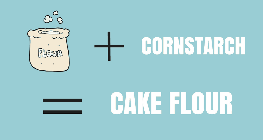 cake flour graphic
