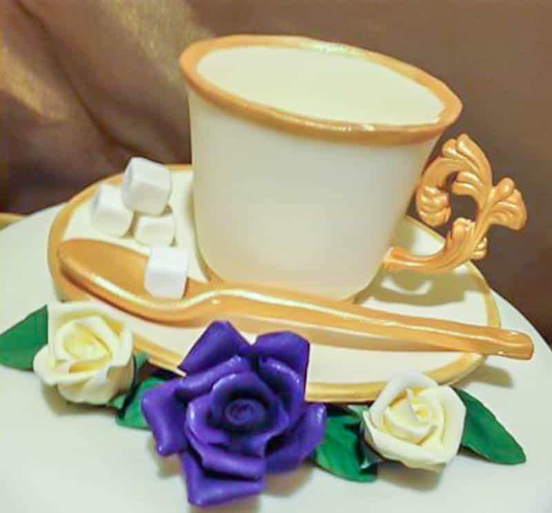Gumpaste Tea Cup