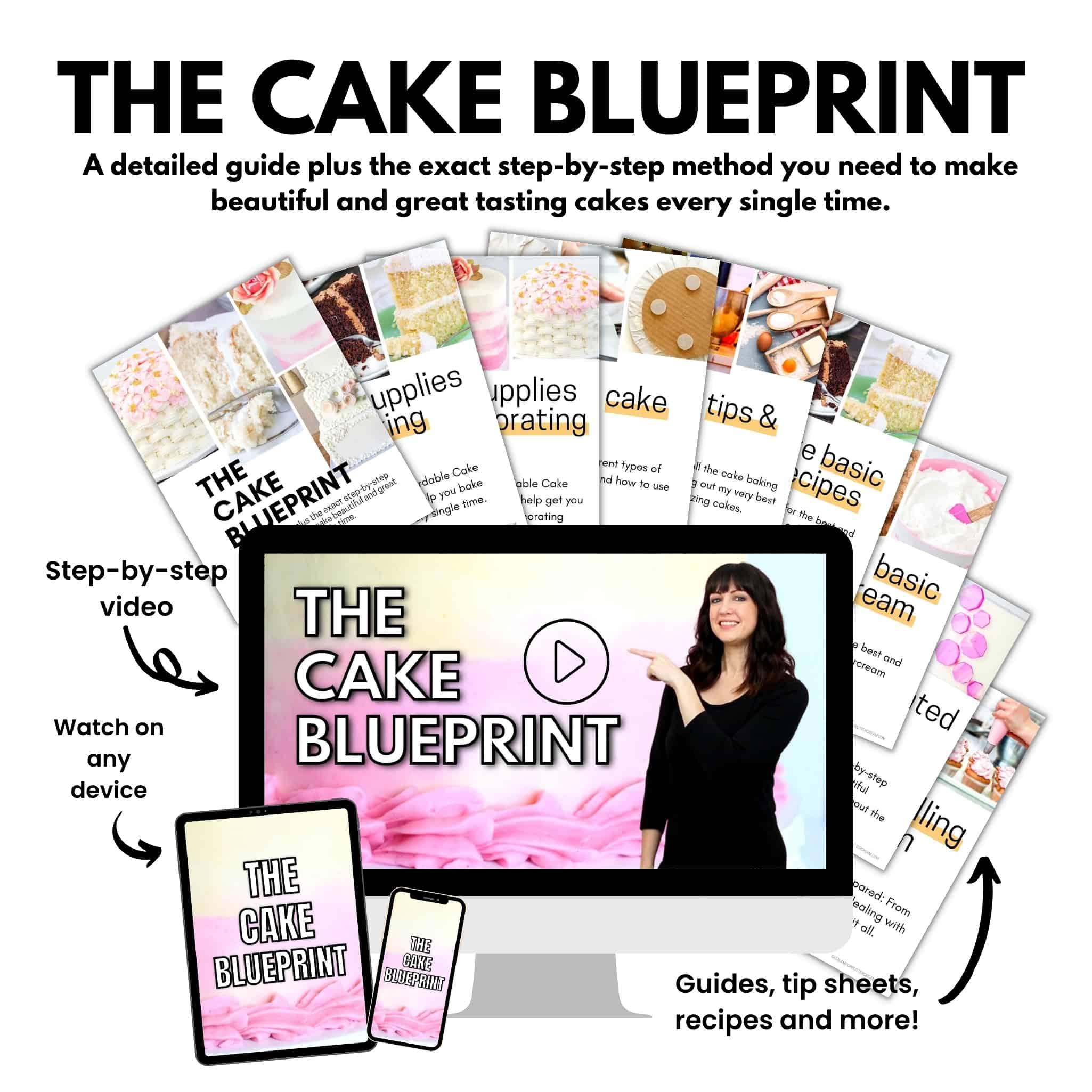 cake blueprint mockup
