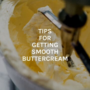 tips for smooth buttercream featured image