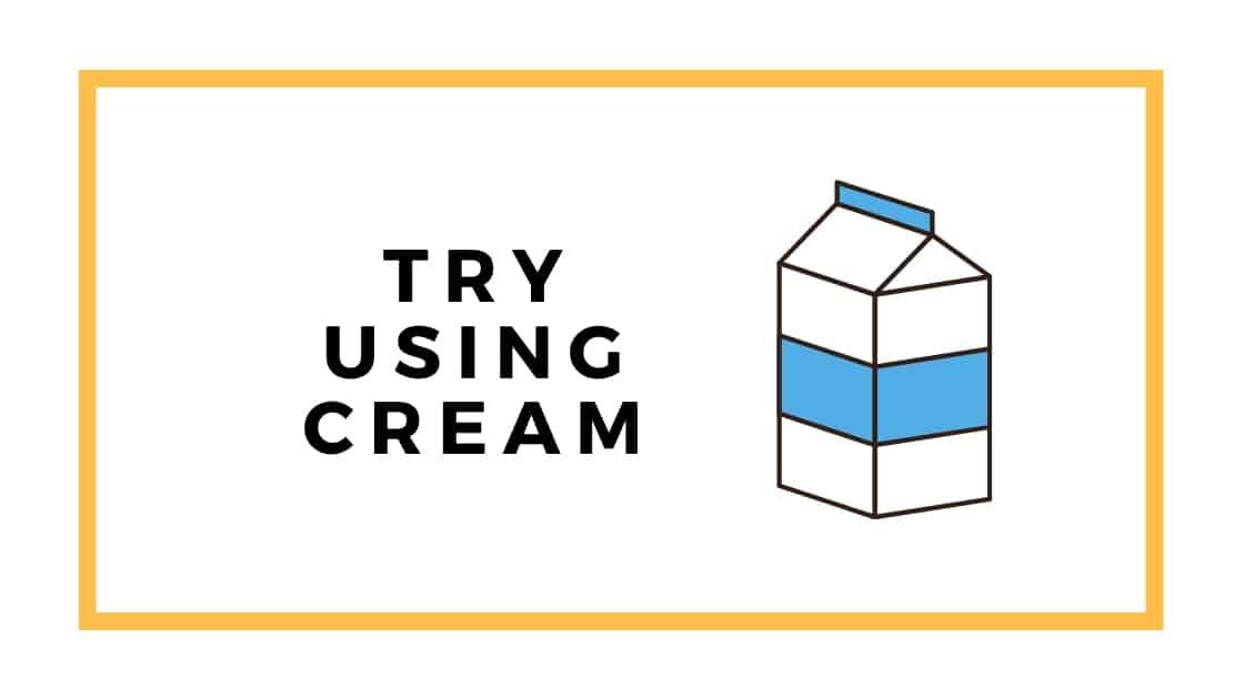 cream graphic
