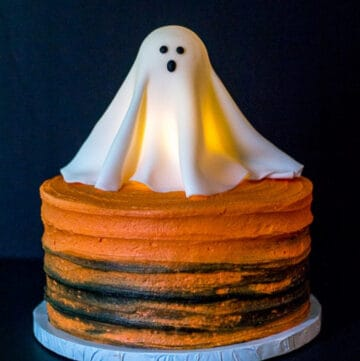 glowing ghost cake featured image