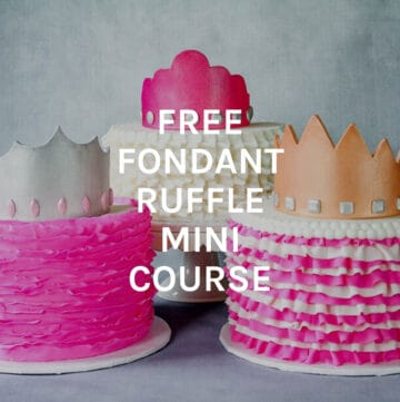 free fondant ruffle course featured image