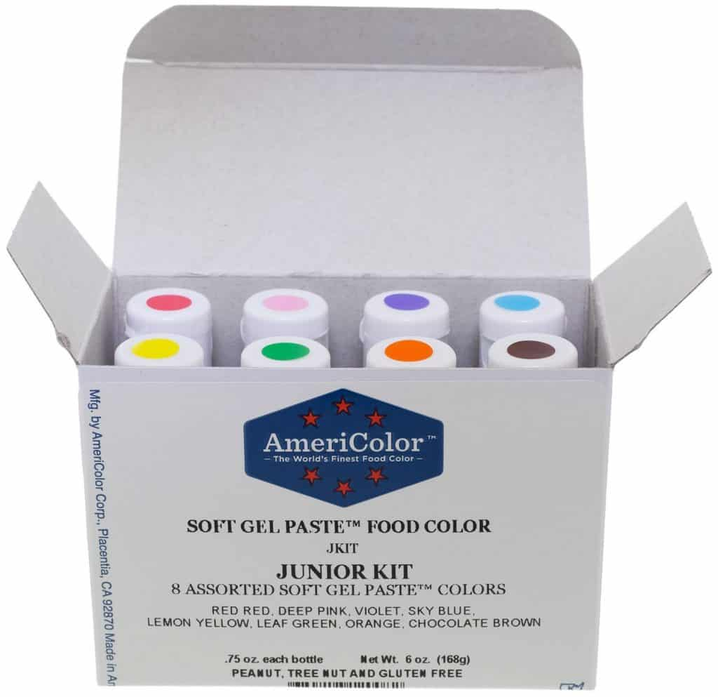 Americolor soft gel colors