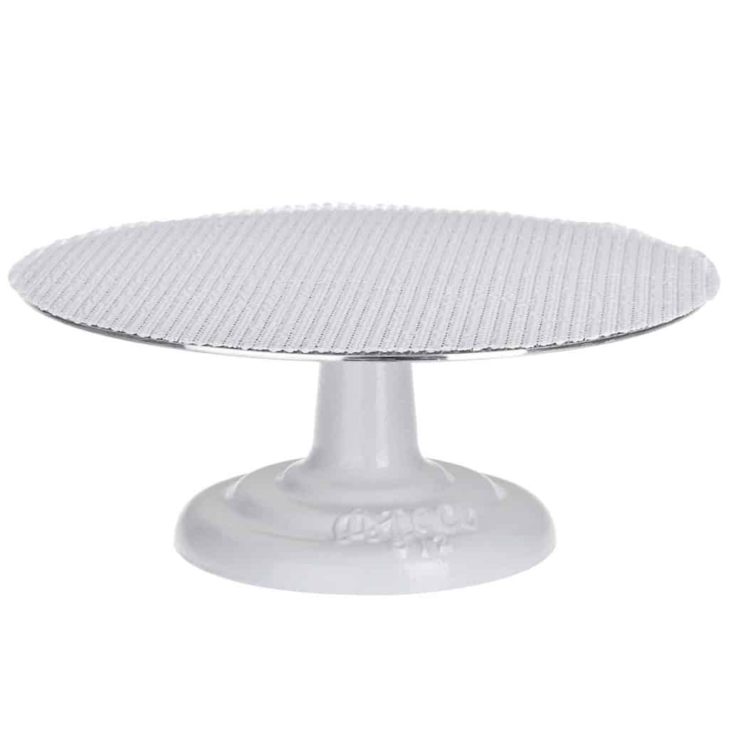 Metal cake turn table