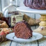 Chocolate Rum Cake with a Kick