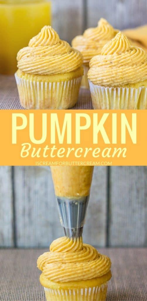Pumpkin Buttercream Pinterest Graphic
