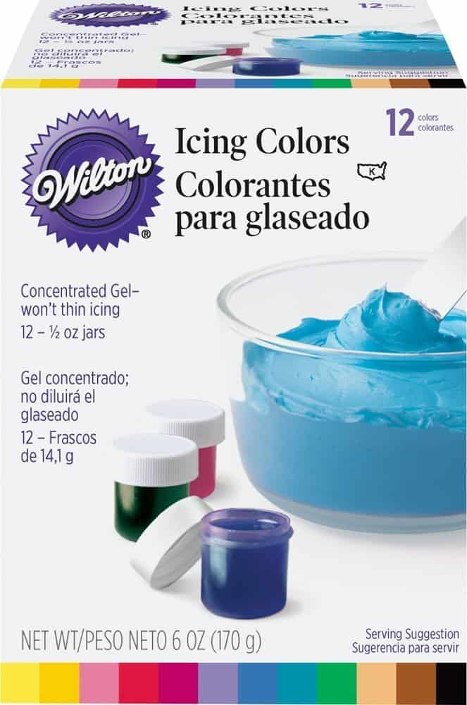 wilton gel icing colors