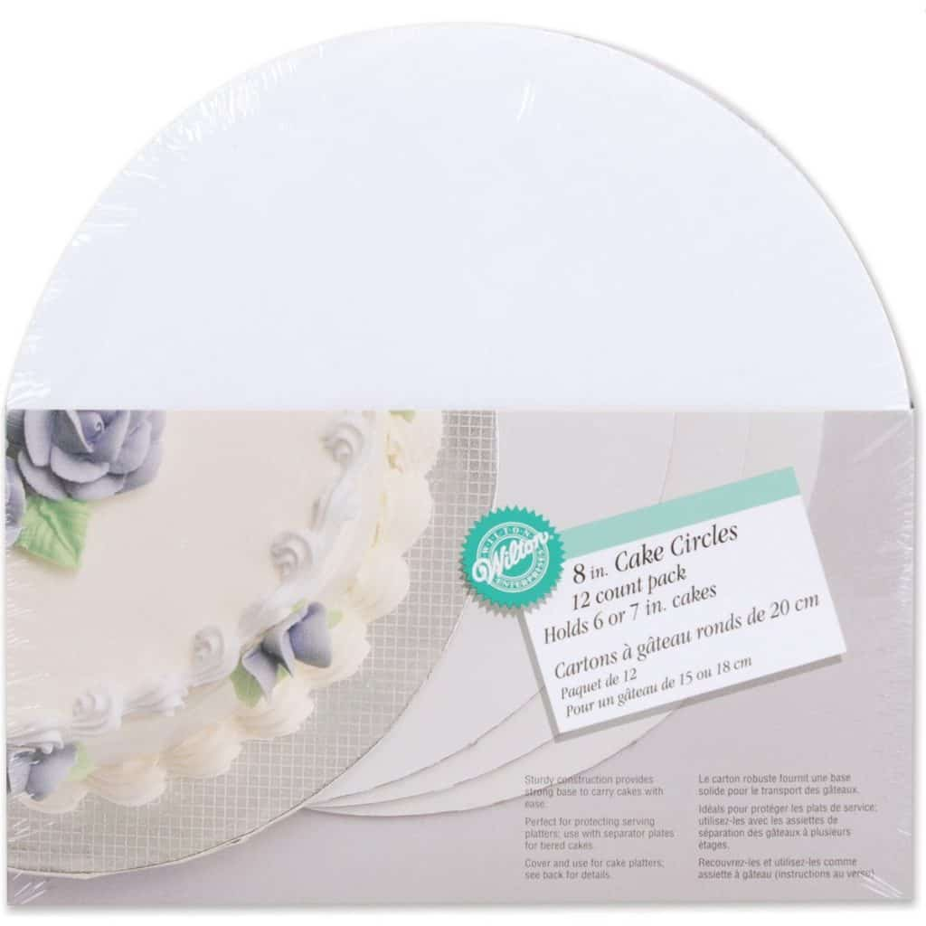 Wilton cake board rounds
