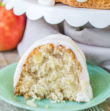 coconut apple cake featured image