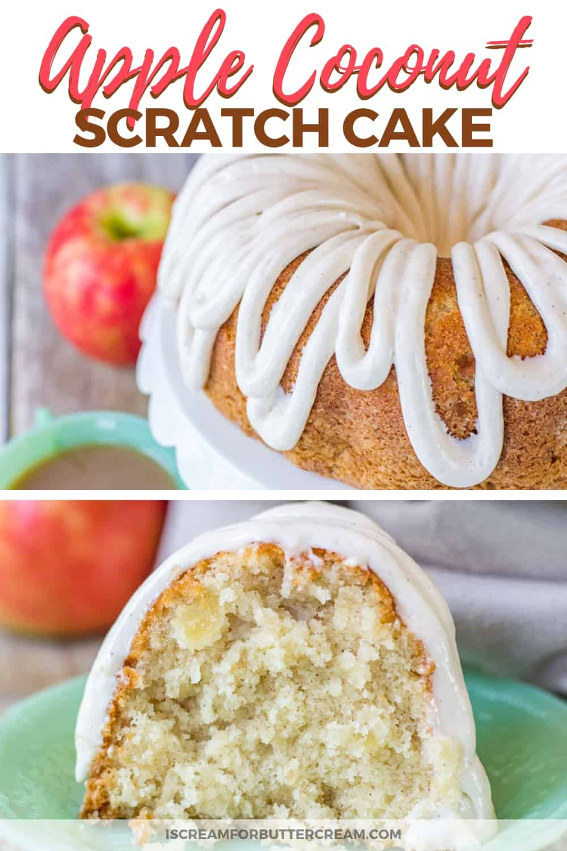 Moist Apple Coconut Cake New Pinterest Graphic 1