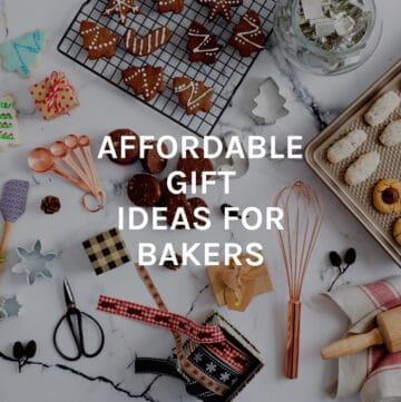 affordable gifts for bakers featured image